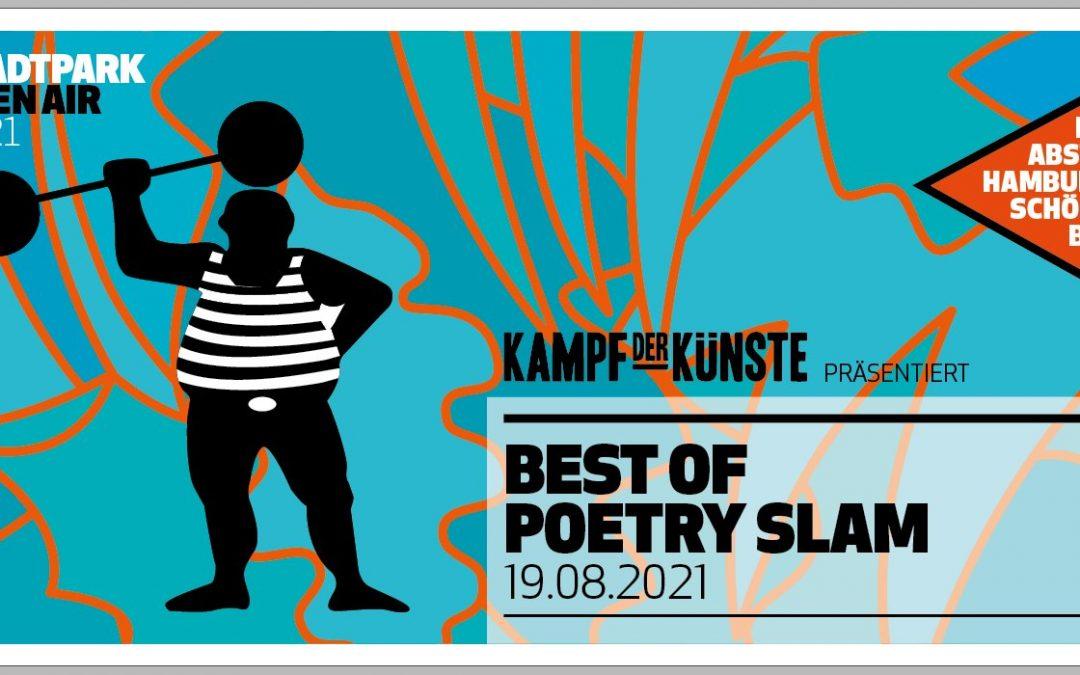 Best of Poetry Slam Open Air // Stadtpark Hamburg